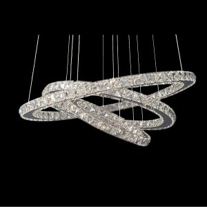 GALAXY 1m LED Crystal Pendant - LEDP1028