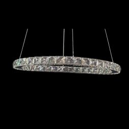GALAXY 500 Cool White LED Crystal Pendant - LEDP1030CW