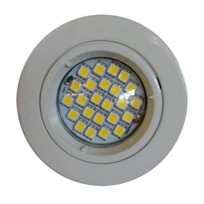 4w GU10 LED Downlight Kit 70mm white
