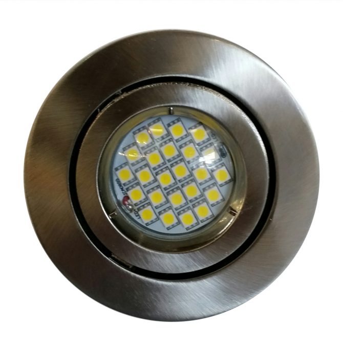 4w GU10 LED Downlight Kit 90mm bch