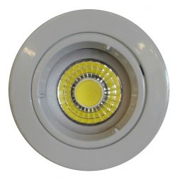 9w COB GU10 LED Downlight Kit 70mm white