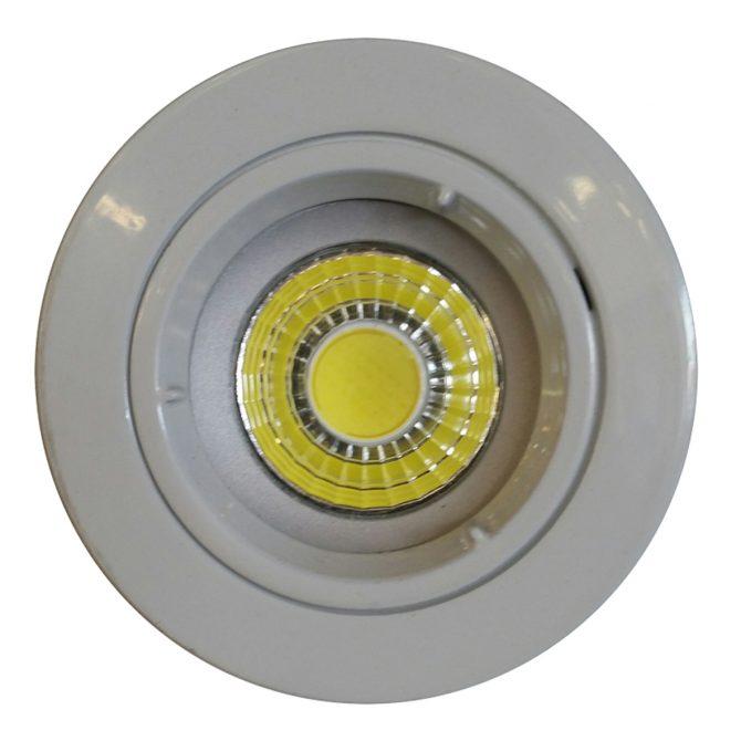 9w COB GU10 LED Downlight Kit 70mm white