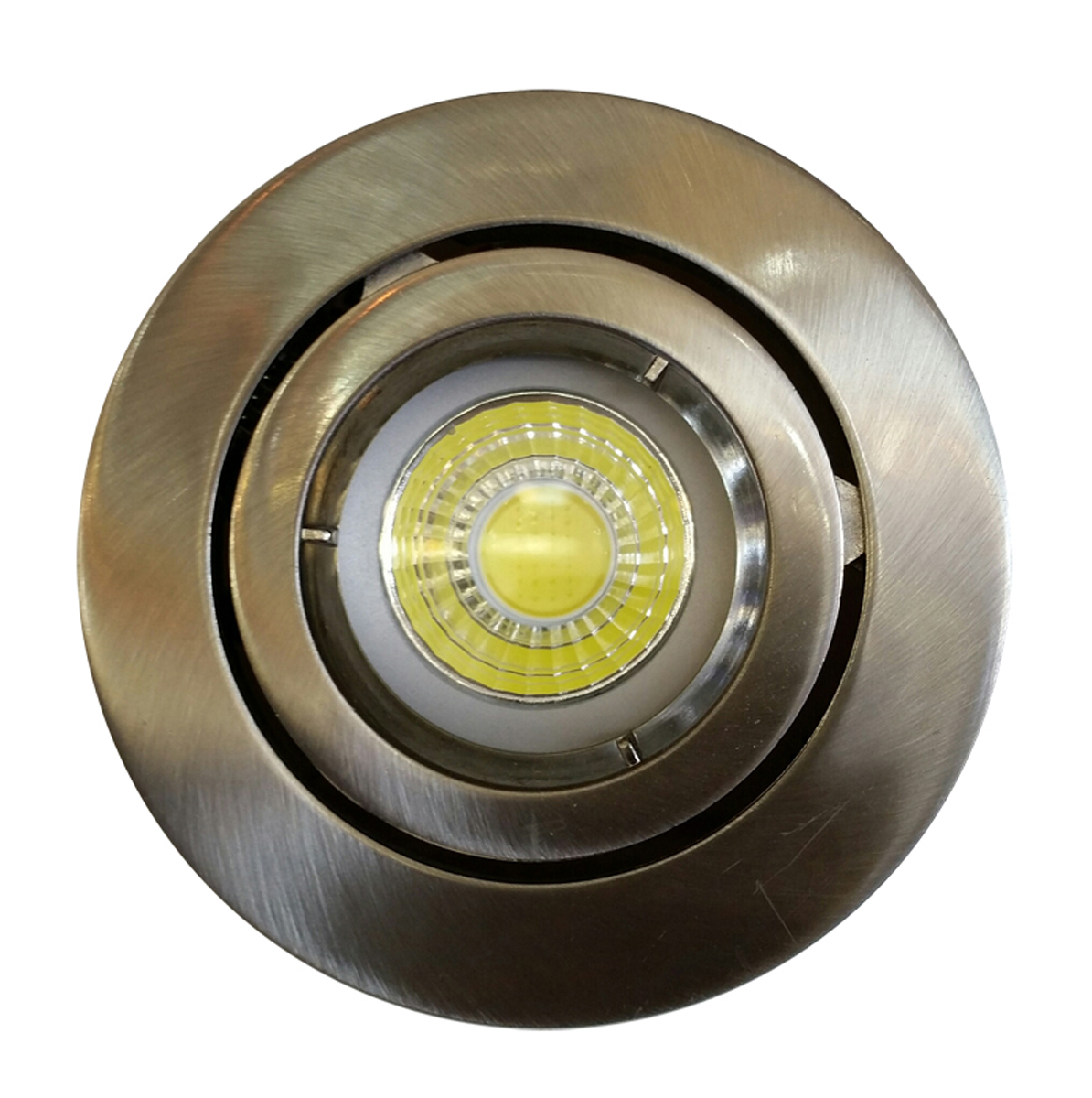 9 Watt Gu10 Recessed Cob Led Dimmable Downlight Kit Pure