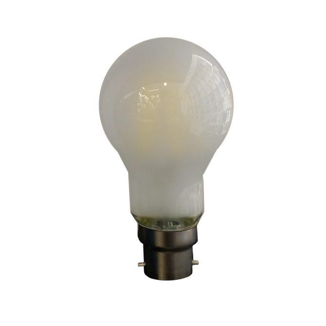 A19 B22 6W LED Globe Frosted - LEDA196WB22FR - PW - CW - WW