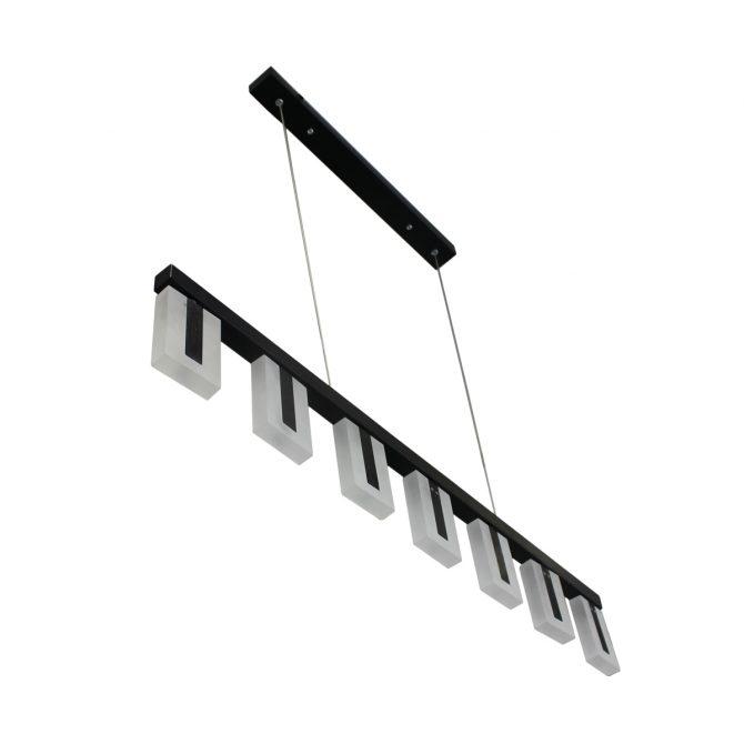 Alloy Black LED Pendant - LEDP1026