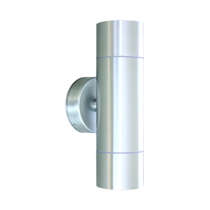 Anodized Aluminium Exterior Up and Down - EXTUPDWNAA