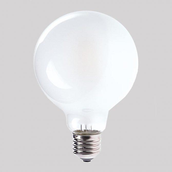 G95 E27 6W LED Globe Frosted - LEDG956WE27FR - PW - CW - WW