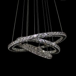 GALAXY 650 Cool White LED Cystal Pendant - LEDP1001CW
