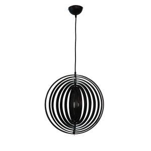 Helical 300 Black Pendant Light - P1210HEL30BLK