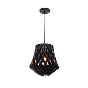 Hive 360 Black Pendant Light - P1021HIVE360B