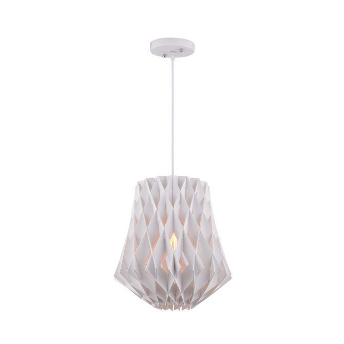 Hive 360 White Pendant Light - P1023HIVE360W