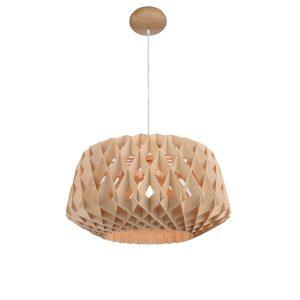 Hive 600 Wooden Pendant Light - P1019HIVE600
