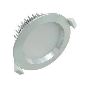 13 watt Dimmable LED Downlight Kit Anodized Aluminum- Warm White