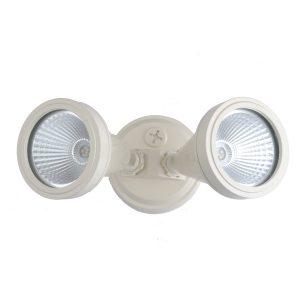 LED Double Beige Exterior Spot Light - ledsptdblbge