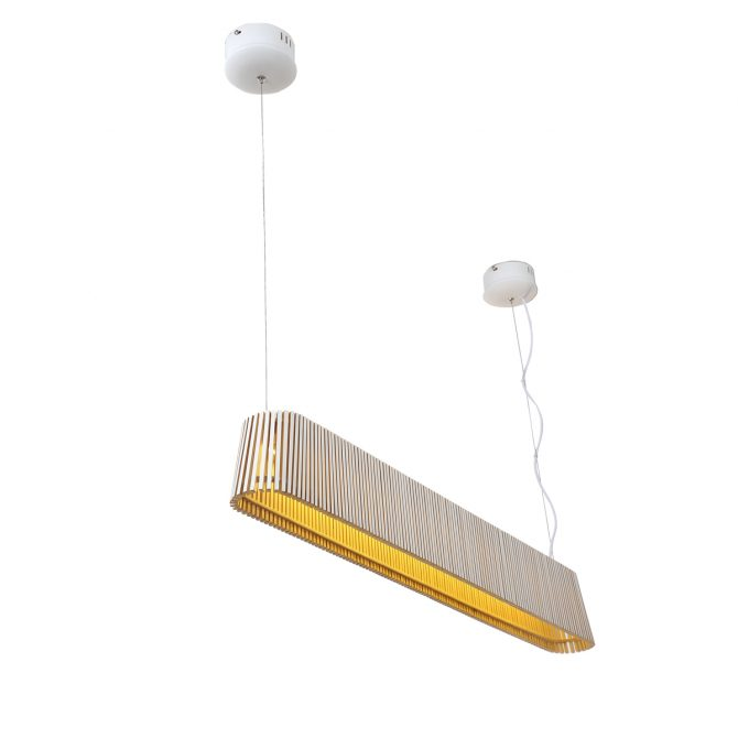 Stix 1M Wooden Pendant Light - P1054STIX
