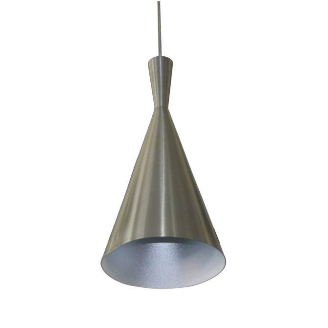 Tanzie Satin Nickel 1 Light Pendant - SP1011