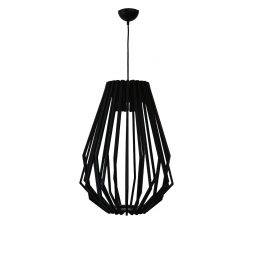 Web 400 Black Pendant Light - P1087WEBBLK