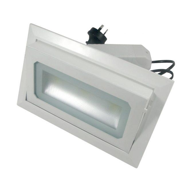35 Watt LED Rectangle Shop Light Cool White