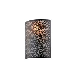 Zay Black Wall Light - W007ZAYBLK