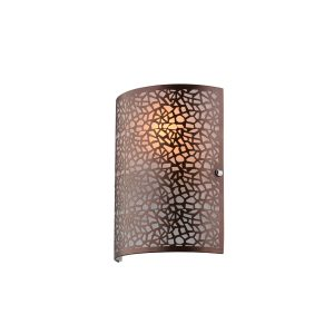 Zay Brown Wall Light - W006ZAYBRN