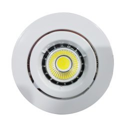 6w COB GU10 LED Downlight Kit 90mm wh