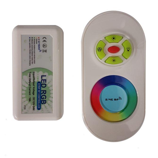 Touch Fade White Remote Control RGB - RCRGBTF